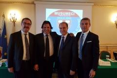 Conferenza Stampa a Palermo presentazione candidato Alessandro Fontanini
