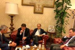 Delegazione Udc incontra Vicepresidente Ppe Dara Murphy al Senato