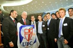 I giovani Udc e il Presidente Poetterin