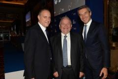 Lorenzo Cesa e Antonio De Poli incontrano il presidente del Ppe Jospeh Daul