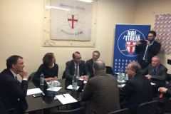 Lorenzo Cesa incontra Manfred Weber a Roma