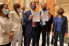 Referendum Giustizia. Conferenza Stampa Udc - Lega