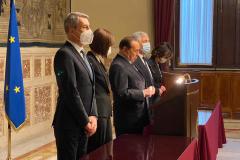 Secondo giro di consultazioni con il premier incaricato Mario Draghi