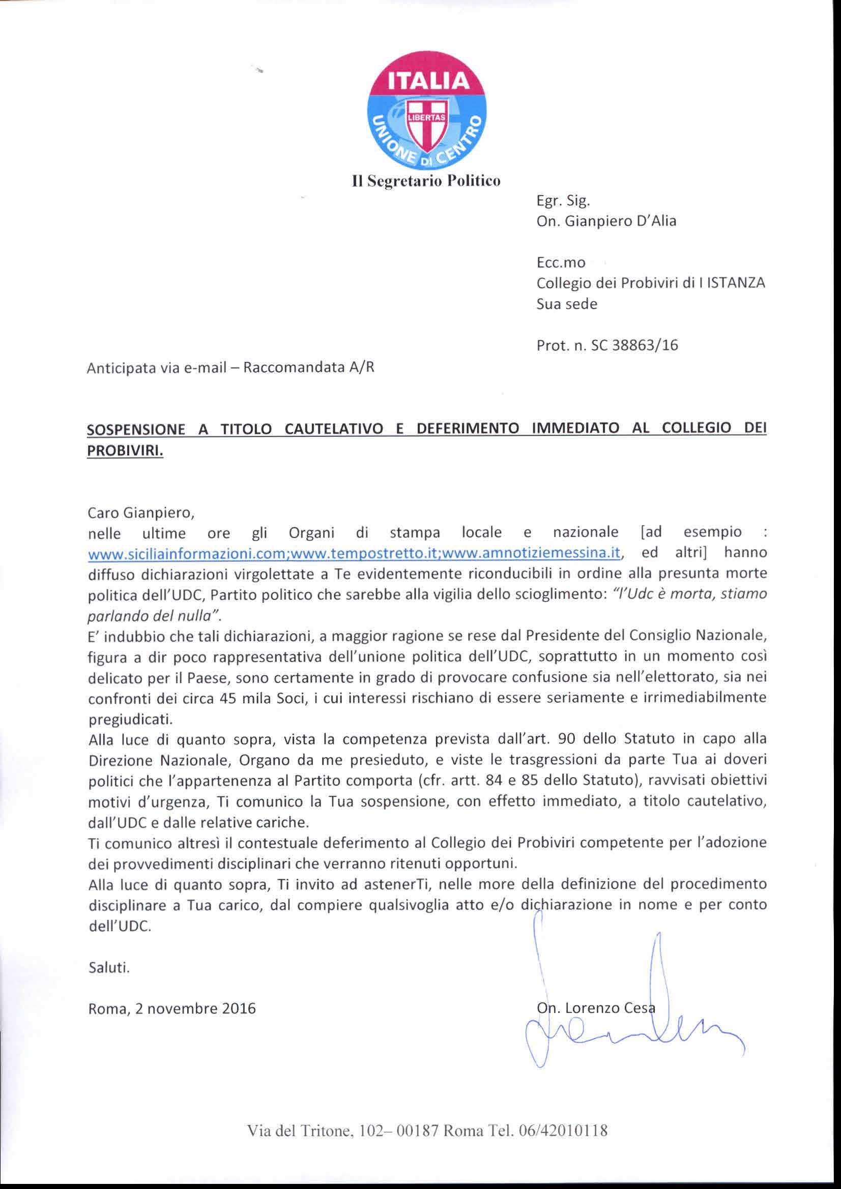 sospensione-a-titolo-cautelativo-e-deferimento-immediato-al-collegio-probiviri