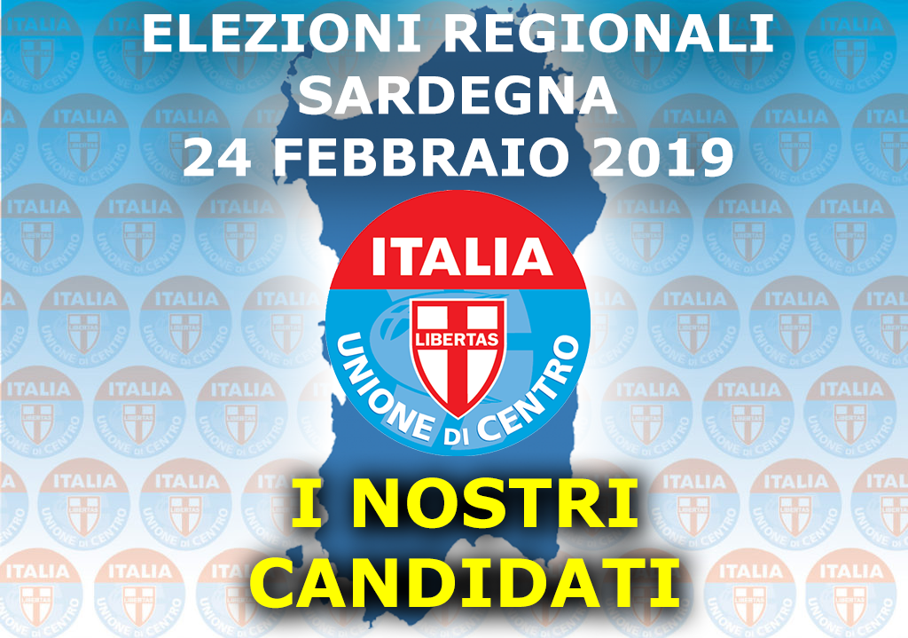 Elezioni Regionali Sardegna I Nostri Candidati Udc Italia